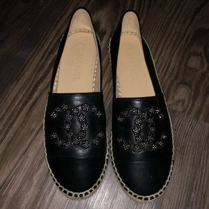 CHANEL Shoes - Chanel Black Espadrilles // Never used